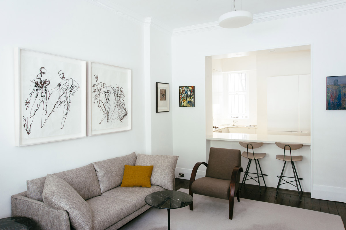 Elizabeth Bay Apartment by Donald Campbell Design